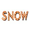 TrekDecor Iconics Snow Holiday Typography Marquee Light