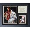 Legends Never Die Elvis Presley White Suit Framed Photo Collage