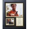 Legends Never Die Scarface Gun Framed Memorabilia