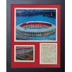 Legends Never Die Cincinnati Reds - Riverfront Stadium Framed Memorabilia