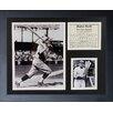 Legends Never Die Babe Ruth Swing Framed Memorabilia