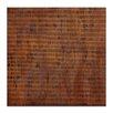 Artist Lane Burnt Orange Grid 2 by Katherine Boland Painting Print on Wrapped Canvas