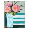 Artist Lane Stripes by Anna Blatman Painting Print on Canvas