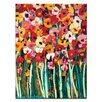 Artist Lane Lovely Poppies by Anna Blatman Painting Print on Wrapped Canvas