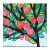 Artist Lane Red Apple by Anna Blatman Painting Print on Wrapped Canvas