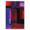 Artist Lane Watercolor Abstraction 224 by Kathy Morton Stanion Painting Print on Canvas
