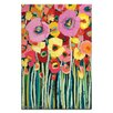 Artist Lane Pair Poppy by Anna Blatman Painting Print on Canvas