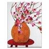 Artist Lane Magnolia Pot by Anna Blatman Painting Print on Canvas