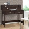 CorLiving Folio Writing Desk with 7 Drawers