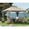 Sunjoy Rosemary 12.5 Ft. W x 12.5 Ft. D Aluminum and Steel Gazebo