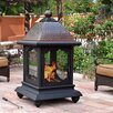 Sunjoy Cobbler Steel Outdoor Fireplace