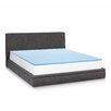 "Linenspa 1"" Gel Memory Foam Mattress Topper"