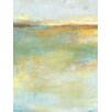 Portfolio Canvas Decor Abstract Wash Center by Elinor Luna Painting Print on Wrapped Canvas