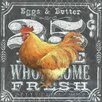 Portfolio Canvas Decor Chalkboard Rooster 25 Cents by Geoff Allen 2 Piece Graphic Art on Wrapped Canvas Set