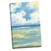 Portfolio Canvas Decor Beach Simplicity Crop by Paul Brent Painting Print on Wrapped Canvas