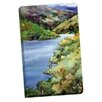 Portfolio Canvas Decor Lake Mendocino by Erin Dertner Painting Print on Wrapped Canvas