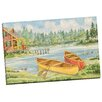 Portfolio Canvas Decor Canoe Camp by Paul Brent Painting Print on Wrapped Canvas