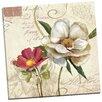 Portfolio Canvas Decor Fleurs de Paris 2 by E. Franklin Graphic Art on Wrapped Canvas