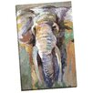 Portfolio Canvas Decor Soft Safari Ivory by Frank Parson Painting Print on Wrapped Canvas