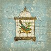 Portfolio Canvas Decor Aviary 1 by Suzanne Nicoll Graphic Art on Wrapped Canvas