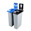 Busch Systems Waste Watcher Double Recycling and Waste Station