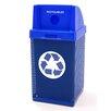 Wausau Tile Inc 38-Gal Metal Waste Container