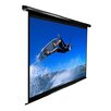 "Elite Screens MaxWhite VMAX2 Series ezElectric / Motorized Screen - 99"" Diagonal in Black Case"