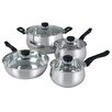 Gibson Rametto 8 Piece Cookware Set