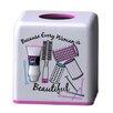 Homewear Linens Hair Salon Tissue Box