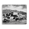 Gallery Direct 'Taos Pueblo, Mew Mexico, 1941' by Ansel Adams Photographic Print on Wrapped Canvas
