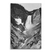 Gallery Direct 'Yellowstone Falls' by Ansel Adams Photographic Print on Wrapped Canvas