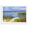 Gallery Direct Beach and Nautical Provincetown Marsh by Maxine Price Framed Painting Print