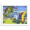 Gallery Direct Beach and Nautical Breeze by Maxine Price Framed Painting Print