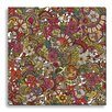Gallery Direct Boho I Spy Colors by Valentina Harper Graphic Art on Wrapped Canvas
