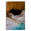 Gallery Direct Abstract Life Aquatic III by Lisa Fabian Painting Print on Wrapped Canvas