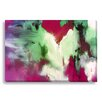 Gallery Direct Abstract Desert Rose by Lisa Fabian Painting Print on Wrapped Canvas