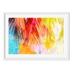 Gallery Direct Watercolor Palm Leaf Framed Painting Print