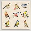 Gallery Direct Nine Birds Canvas Print