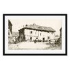 Gallery Direct Bill Lanigan 'White Court, Segovia' by Jules Andre Smith Framed Photographic Print