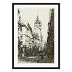 Gallery Direct Bill Lanigan 'Der Lange Franz, Frankfort' by Herman A. Webster Framed Photographic Print