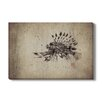 Gallery Direct Japanese 'Lionfish' by Dwight Hwang Painting Print on Wrapped Canvas