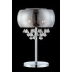 """Lite Source Othello 21"""" Table Lamp with Drum Shade"""