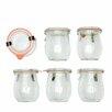ACME Party Box Company Weck 7.4-Ounce Mini Tulip Jar (Set of 6)