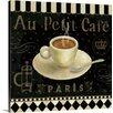 Great Big Canvas Café Parisien by Daphne Brissonnet Gallery Graphic Art on Wrapped Canvas