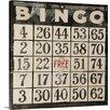 Great Big Canvas Bingo by Clayton Rabo Textual Art on Canvas