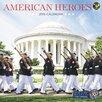 TFPublishing 2016 American Heroes Wall Calendar