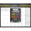 TFPublishing 2016 Chalk It Up 17 Month Desk Blotter Calendar