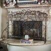 Home Loft Concepts Visalia 3 Panel Iron Fireplace Screen