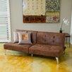 Home Loft Concepts Castletown Click-Clack Oversized Convertible Sofa