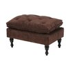 Home Loft Concepts Vasquez Tufted Ottoman